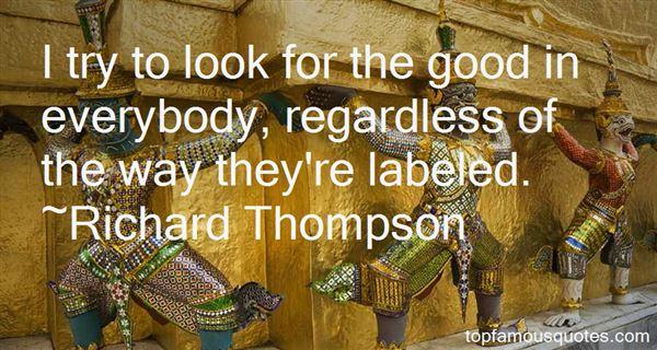 Richard Thompson Quotes