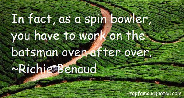 Richie Benaud Quotes
