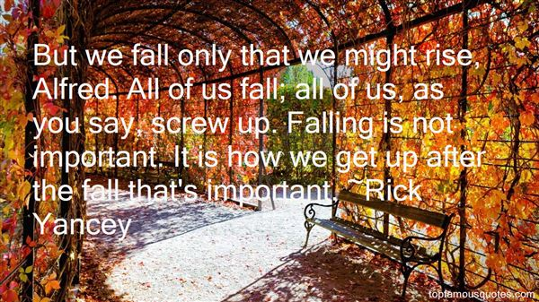 Rick Yancey Quotes