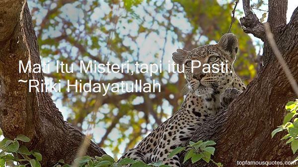 Rifki Hidayatullah Quotes