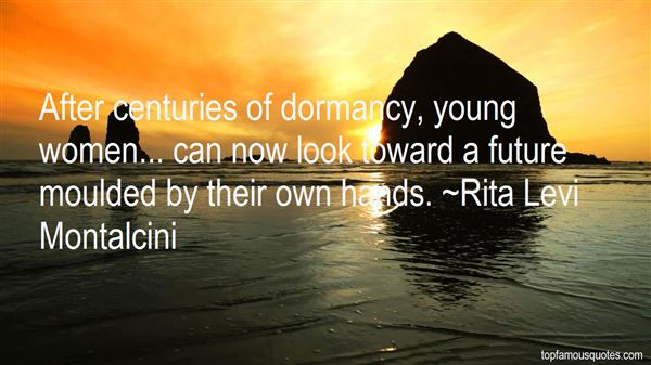 Rita Levi Montalcini Quotes