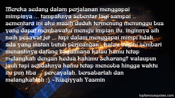 Rizqiyyah Yasmin Quotes