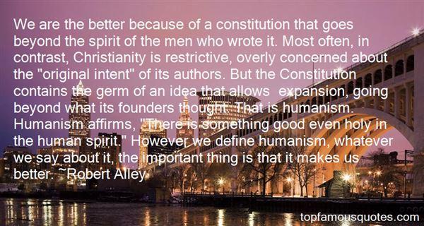 Robert Alley Quotes
