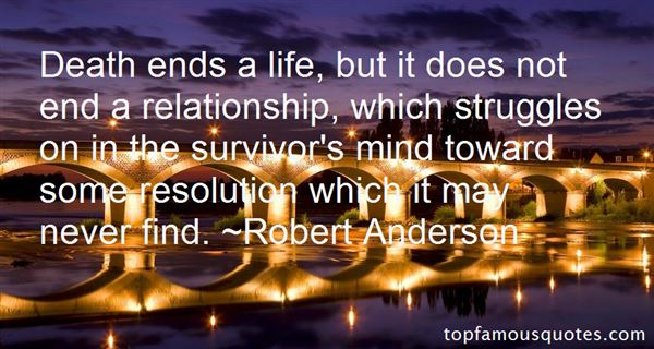 Robert Anderson Quotes