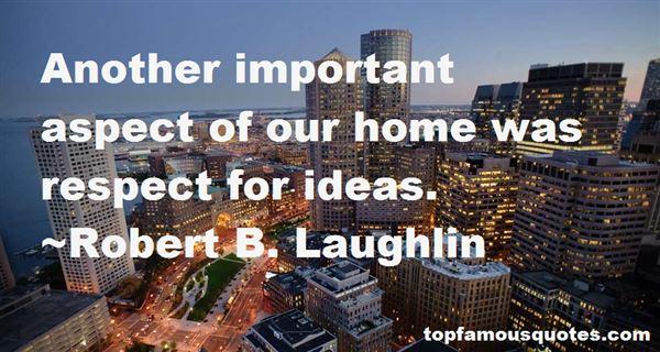 Robert B. Laughlin Quotes