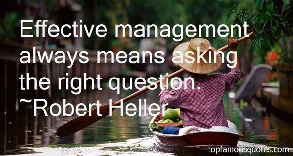 Robert Heller Quotes