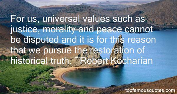 Robert Kocharian Quotes