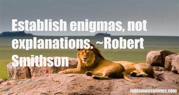 Robert Smithson Quotes