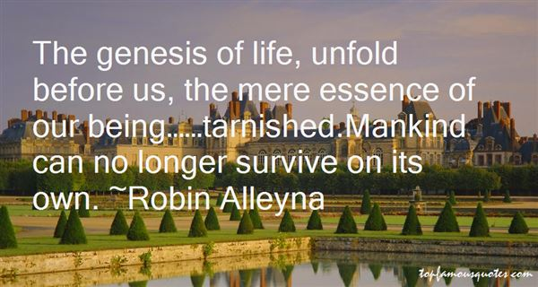 Robin Alleyna Quotes