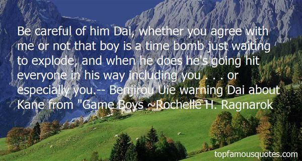Rochelle H. Ragnarok Quotes