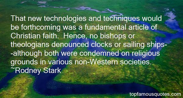 Rodney Stark Quotes