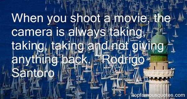 Rodrigo Santoro Quotes