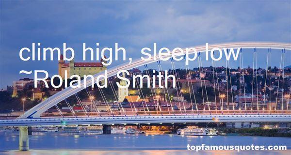 Roland Smith Quotes