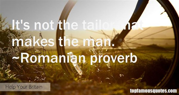 Romanian Proverb Quotes
