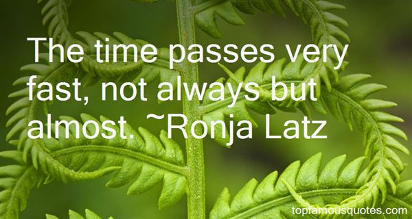 Ronja Latz Quotes