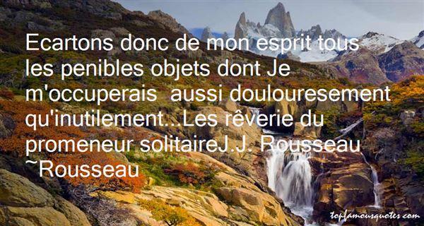 Rousseau Quotes