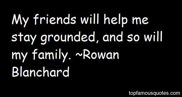 Rowan Blanchard Quotes