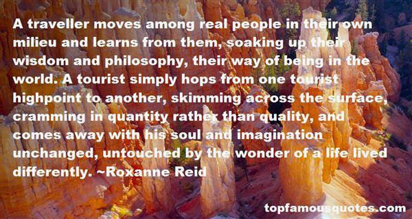 Roxanne Reid Quotes