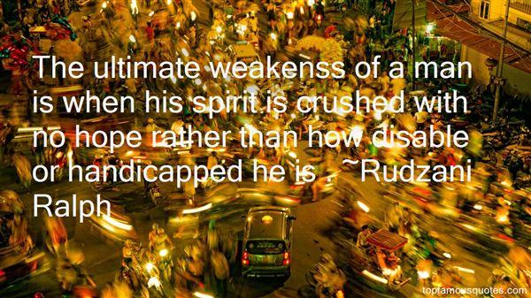 Rudzani Ralph Quotes