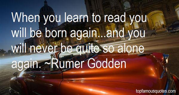 Rumer Godden Quotes