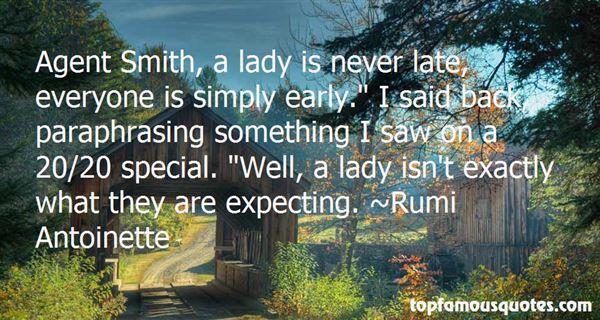 Rumi Antoinette Quotes