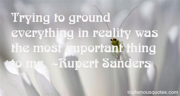 Rupert Sanders Quotes
