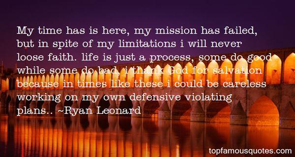 Ryan Leonard Quotes