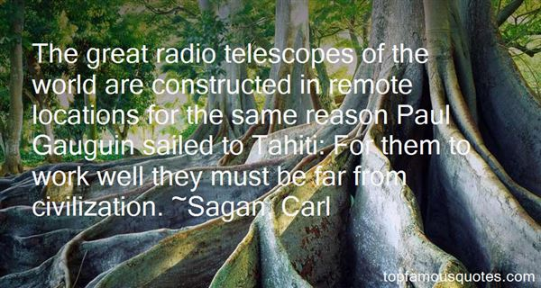 Sagan, Carl Quotes