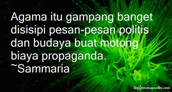 Sammaria Quotes