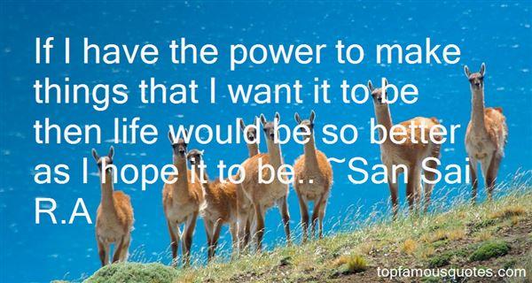 San Sai R.A Quotes