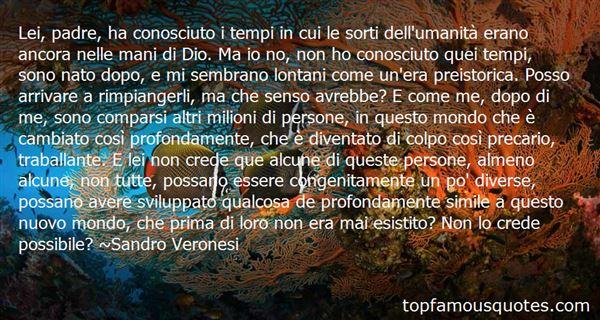Sandro Veronesi Quotes