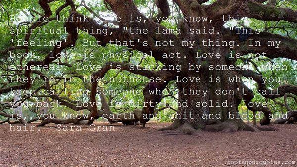 Sara Gran Quotes