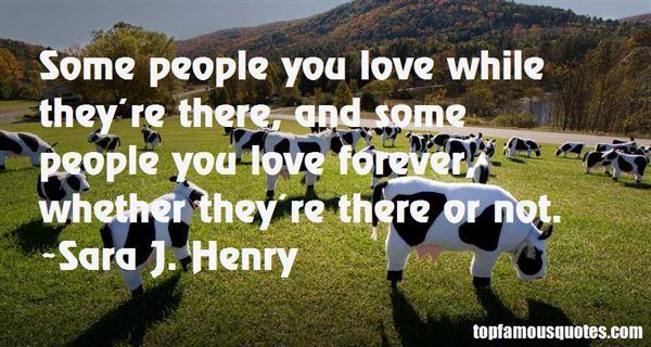 Sara J. Henry Quotes