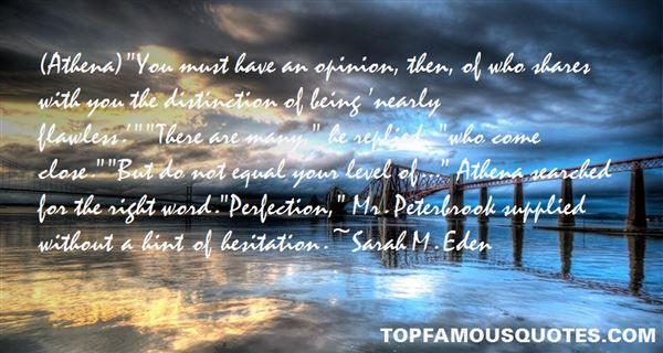 Sarah M. Eden Quotes