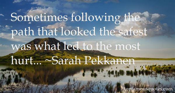 Sarah Pekkanen Quotes