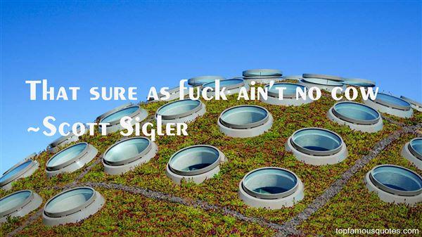 Scott Sigler Quotes