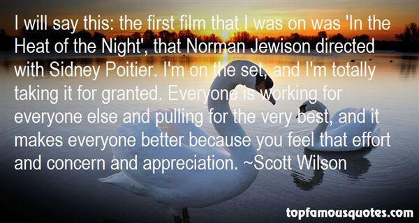 Scott Wilson Quotes