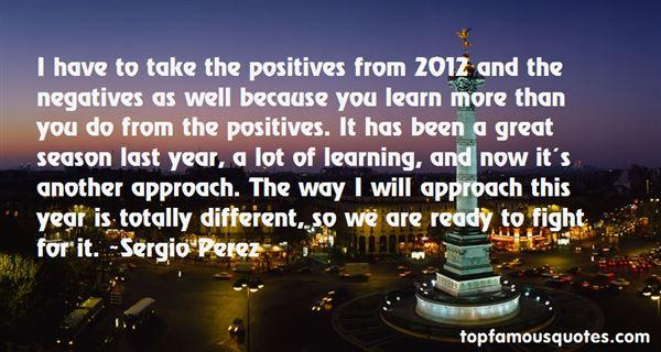 Sergio Perez Quotes