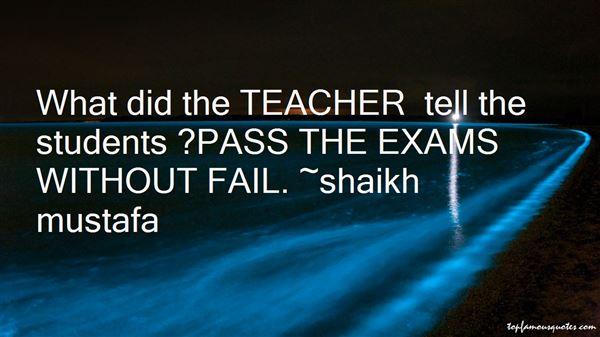 Shaikh Mustafa Quotes