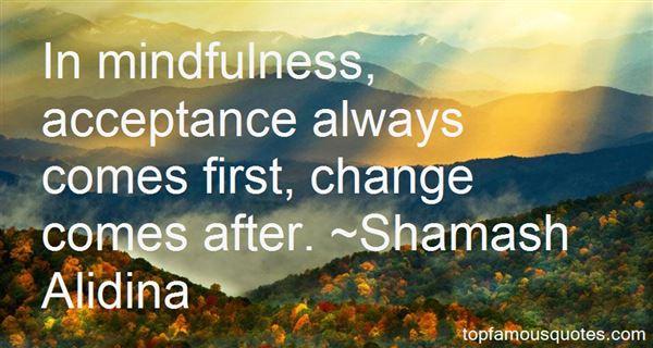 Shamash Alidina Quotes