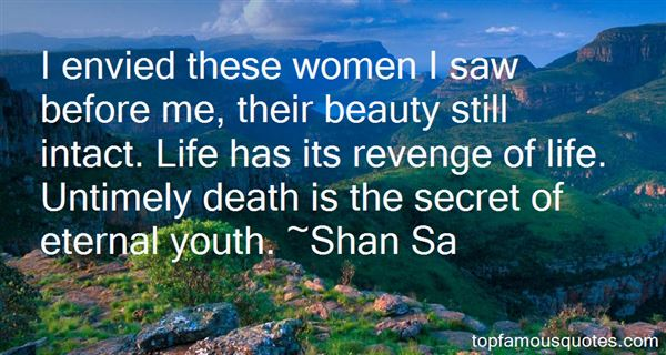 Shan Sa Quotes