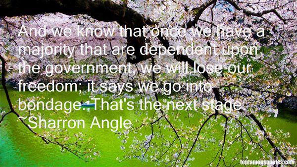 Sharron Angle Quotes