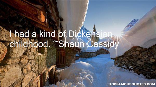 Shaun Cassidy Quotes