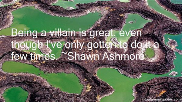 Shawn Ashmore Quotes