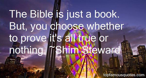 Shim Steward Quotes