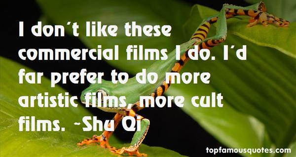 Shu Qi Quotes