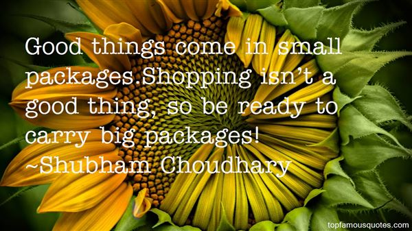 Shubham Choudhary Quotes