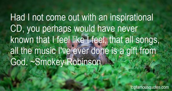 Smokey Robinson Quotes