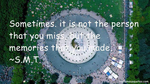 S.M.T. Quotes