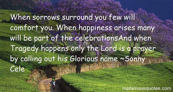 Sonny Cele Quotes